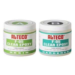 F-05 Clear Epoxy 1kg Set