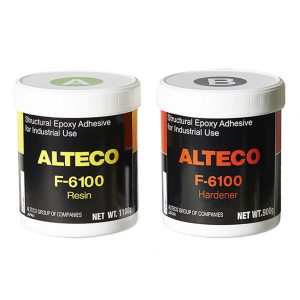 F-6100 Clear Epoxy 2kg Set